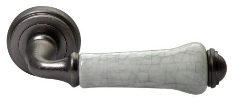 Модель Дверная ручка MH-41-CLASSIC OMS/GR старое мат.серебро/серый