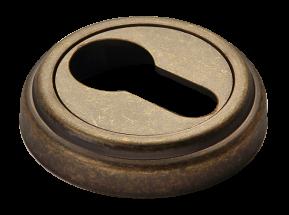 Модель Накладки на ключевой цилиндр MH-KH-CLASSIC OMB старая античная бронза