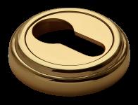 Накладки на ключевой цилиндр MH-KH-CLASSIC PG золото