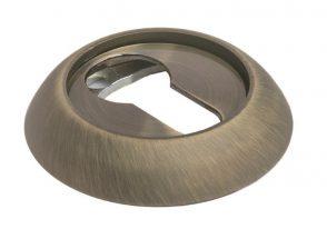 Модель Накладки на ключевой цилиндр MH-KH MAB Матовая Античная бронза