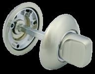Завертка сантехническая MH-WC SN/CP Белый никель/хром