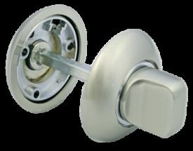 Модель Завертка сантехническая MH-WC SN/CP Белый никель/хром