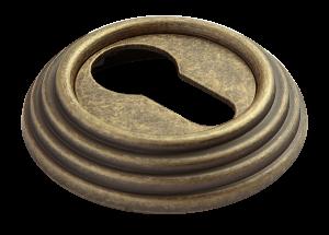 Модель Накладка на ключевой цилиндр RAP-CLASSIC-L KH OMB старая античная бронза